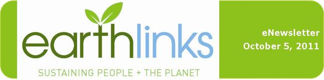 EarthLinks eNewsletter Oct 5 2011