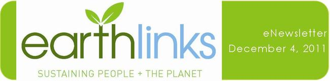 EarthLinks eNewsletter Dec 4 2011