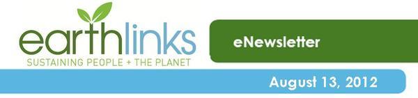 EarthLinks eNewsletter 8-13-12