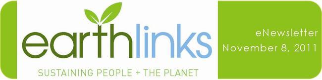 EarthLinks eNewsletter Nov 8 2011